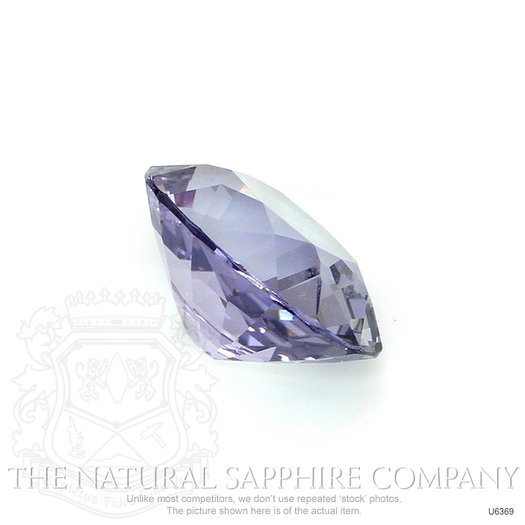 Natural Untreated Purple Sapphire U6369 Image 3