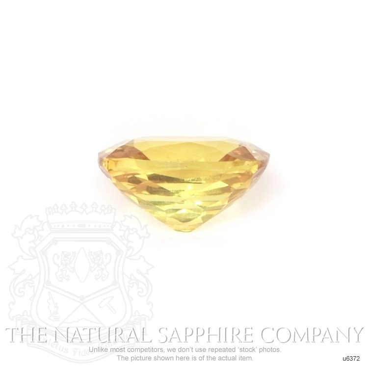 Natural Untreated Yellow Sapphire U6372 Image 2