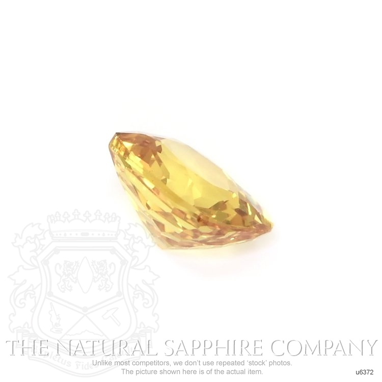 Natural Untreated Yellow Sapphire U6372 Image 3
