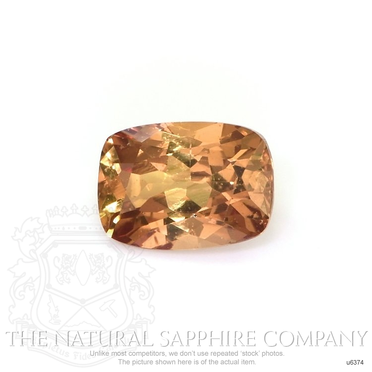 Natural Untreated Yellowish Orange Sapphire U6374 Image