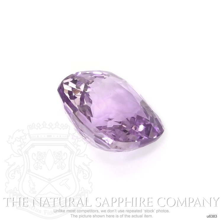 Natural Untreated Pinkish Purple Sapphire U6383 Image 3
