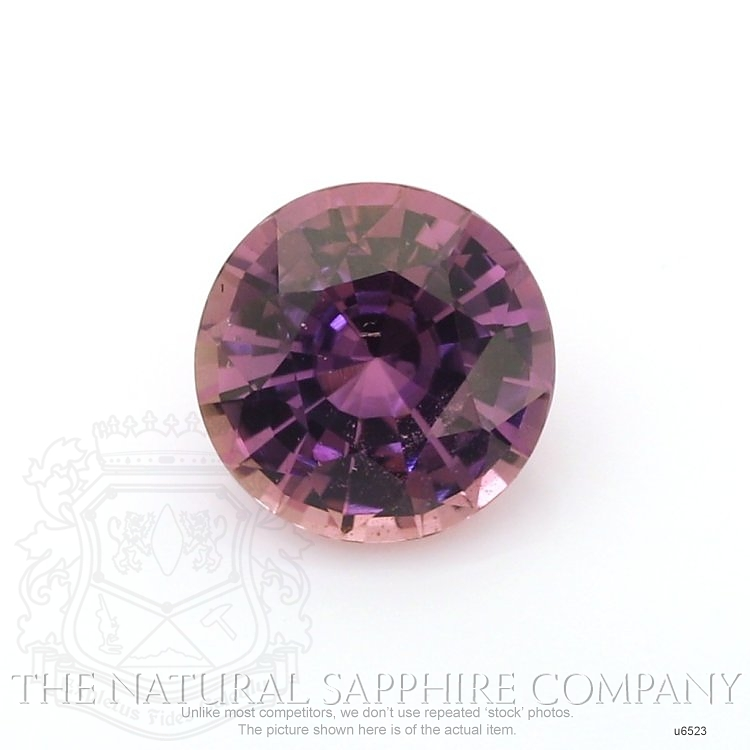 Natural Untreated Purple Sapphire U6523 Image