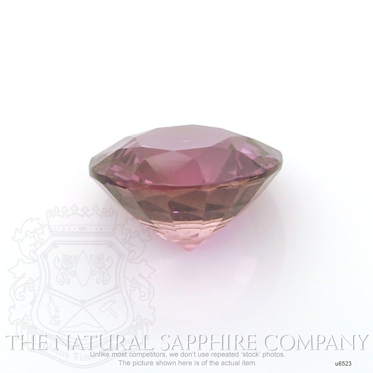 Natural Untreated Purple Sapphire U6523 Image 2
