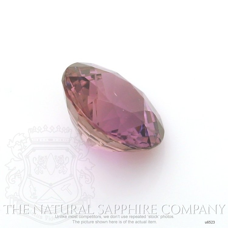 Natural Untreated Purple Sapphire U6523 Image 3