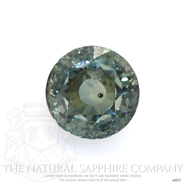 Natural Untreated Green Sapphire U6537 Image