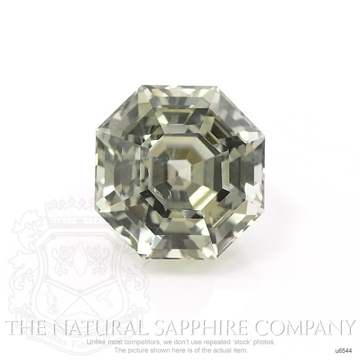 Natural Untreated Yellowish Green Sapphire U6544 Image