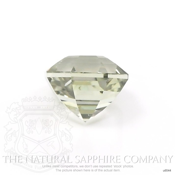 Natural Untreated Yellowish Green Sapphire U6544 Image 2