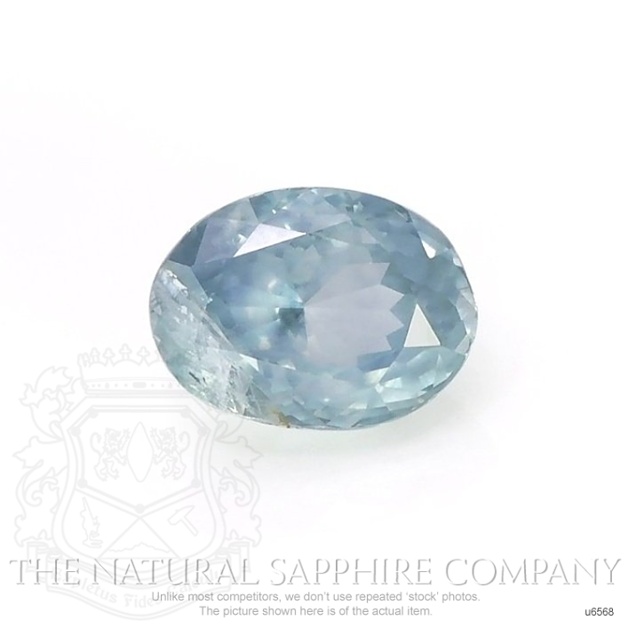 Natural Untreated Greenish Blue Sapphire U6568 Image