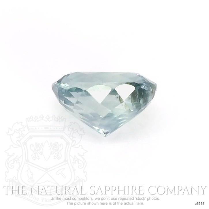 Natural Untreated Greenish Blue Sapphire U6568 Image 2
