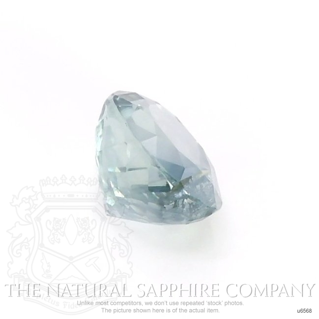 Natural Untreated Greenish Blue Sapphire U6568 Image 3