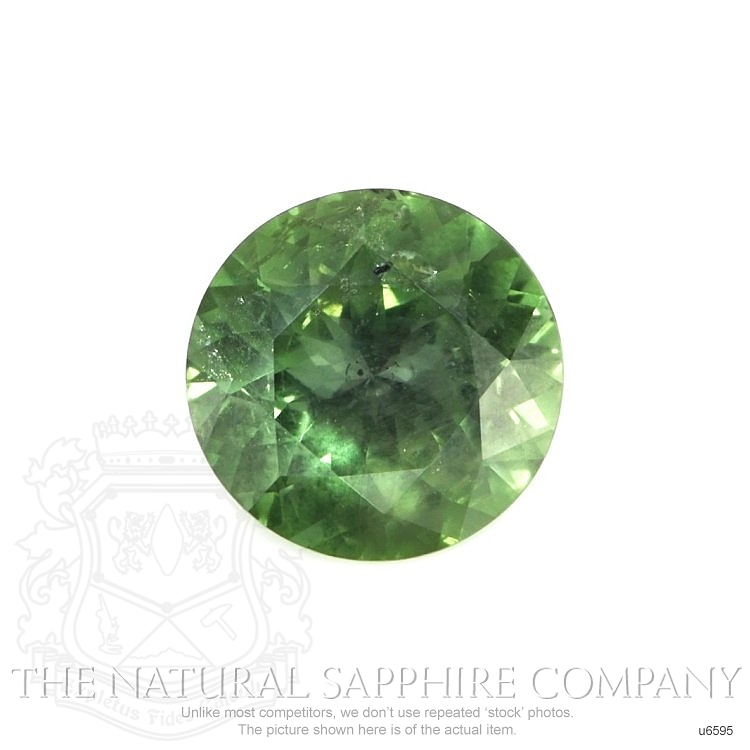 Natural Untreated Green Sapphire U6595 Image