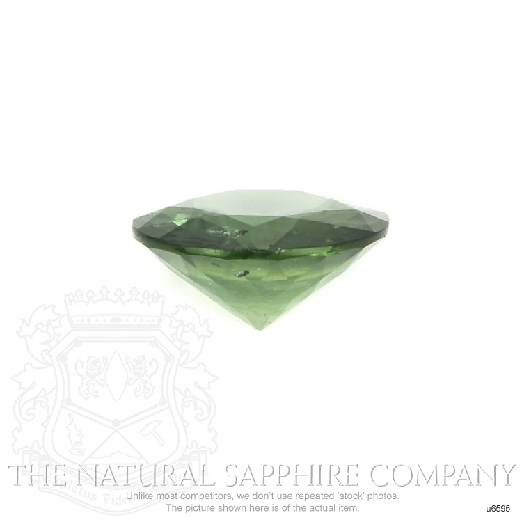 Natural Untreated Green Sapphire U6595 Image 2