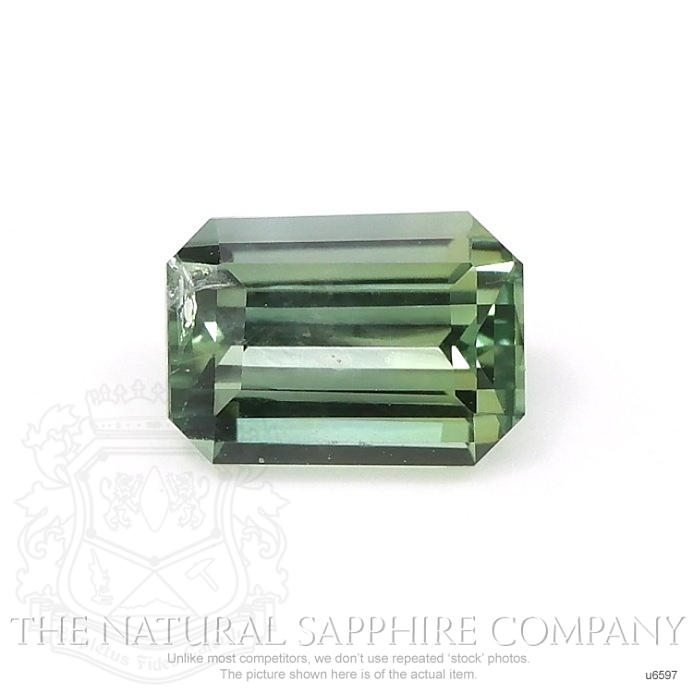 Natural Untreated Yellowish Green Sapphire U6597 Image