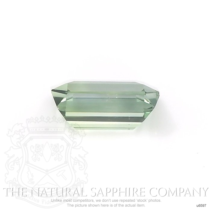 Natural Untreated Yellowish Green Sapphire U6597 Image 2