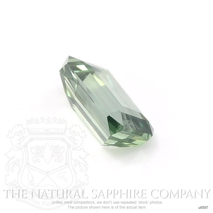 Natural Untreated Yellowish Green Sapphire U6597 Image 3