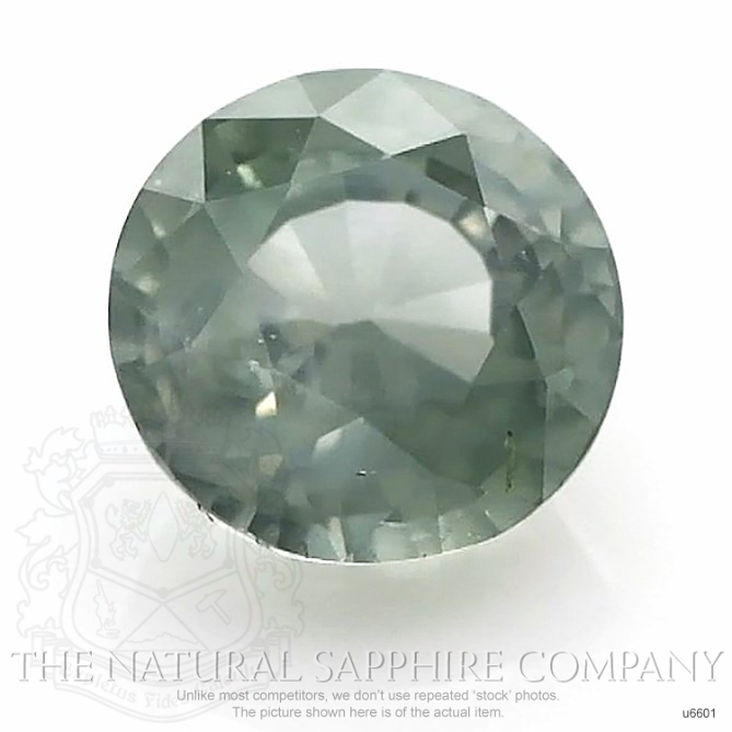 Natural Untreated Greenish Blue Sapphire U6601 Image