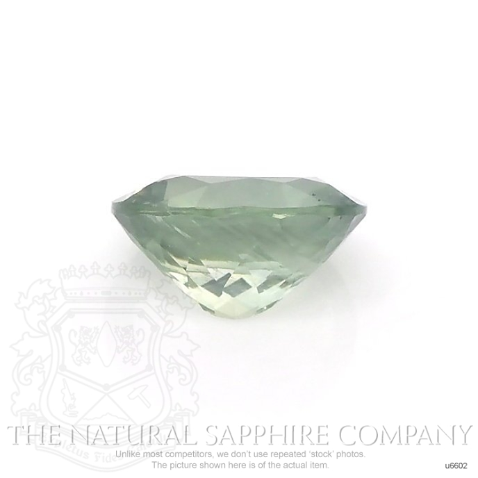 Natural Untreated Yellowish Green Sapphire U6602 Image 2