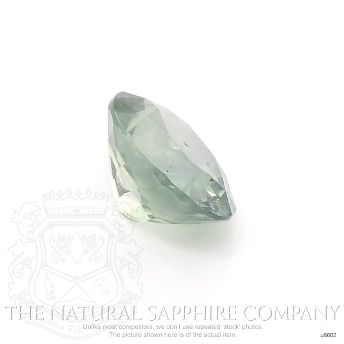 Natural Untreated Yellowish Green Sapphire U6602 Image 3