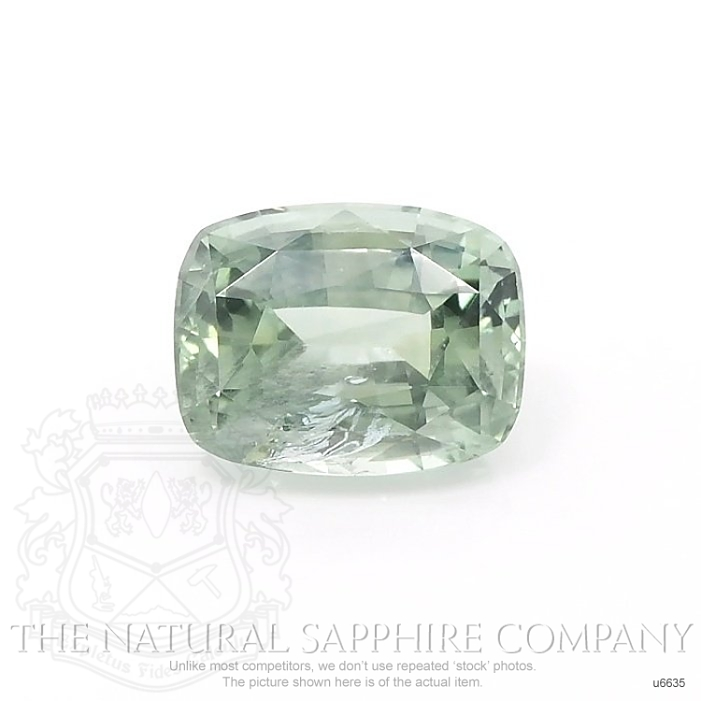 Natural Untreated Yellowish Green Sapphire U6635 Image