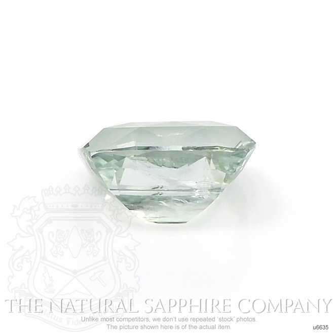 Natural Untreated Yellowish Green Sapphire U6635 Image 2
