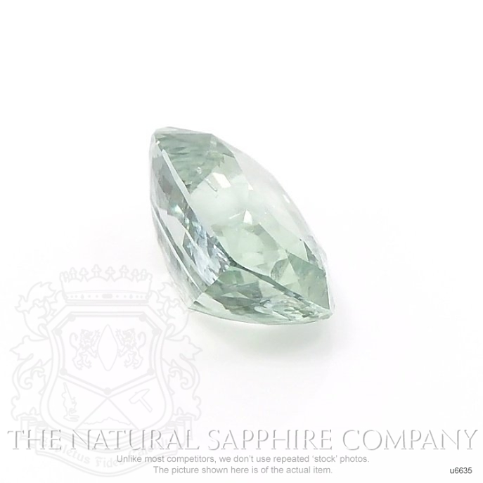 Natural Untreated Yellowish Green Sapphire U6635 Image 3