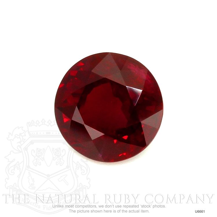 Natural Ruby U6661 Image