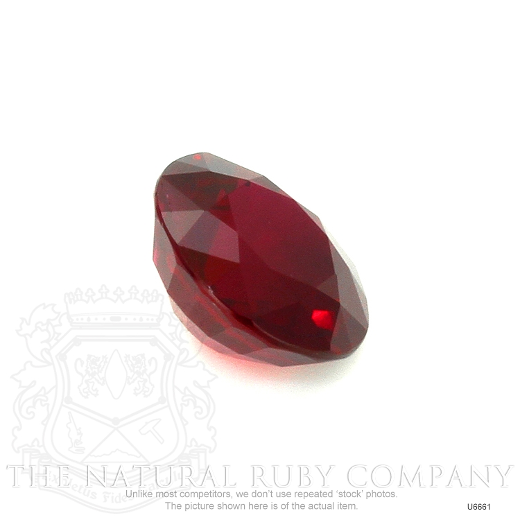 Natural Ruby U6661 Image 3