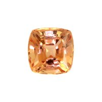 0.75ct Ceylon Cushion Orange Sapphire - U6675