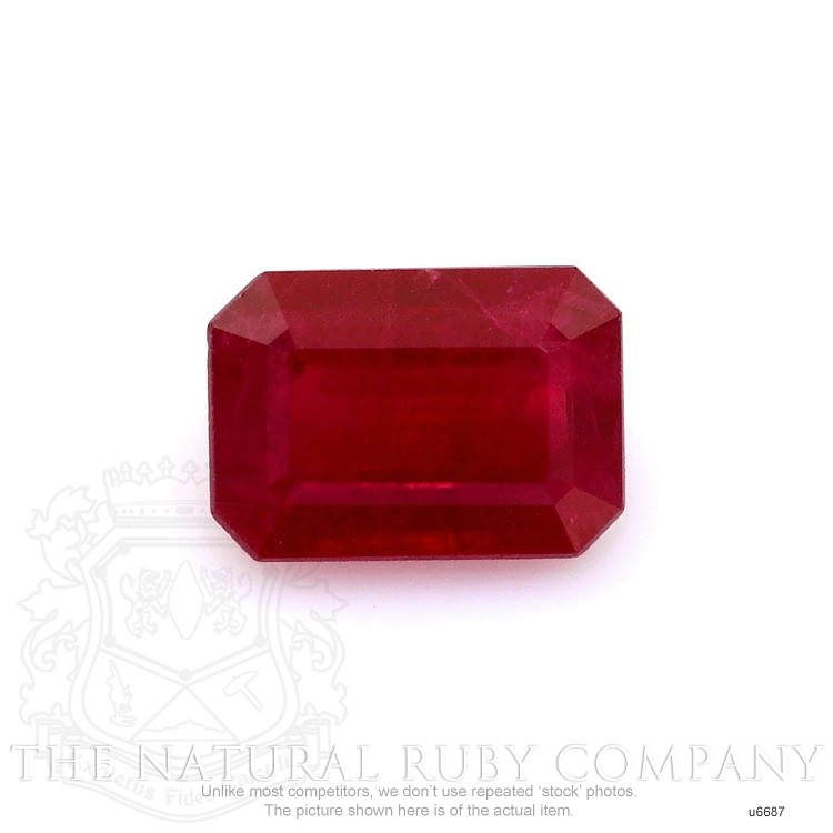 Natural Ruby U6687 Image