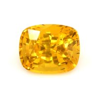4.93ct Ceylon Cushion Orange Sapphire - U6700