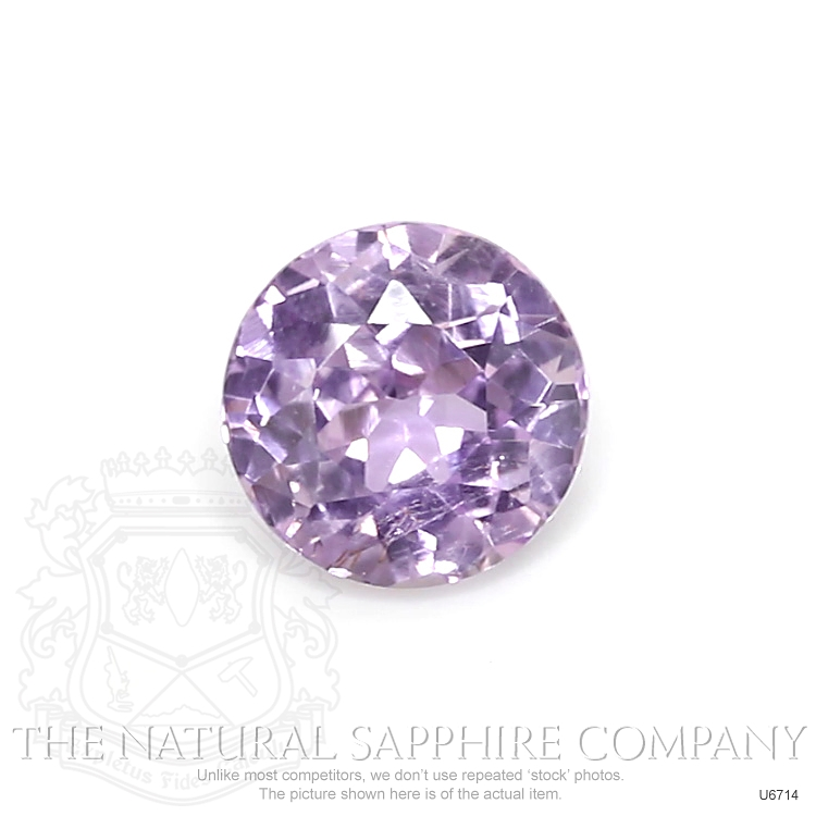 Natural Untreated Purple Sapphire U6714 Image
