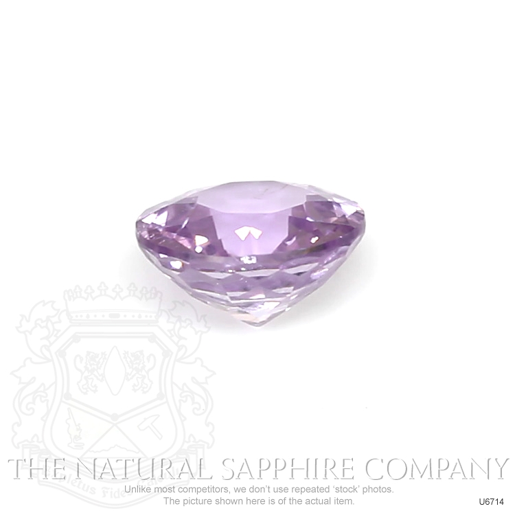 Natural Untreated Purple Sapphire U6714 Image 2