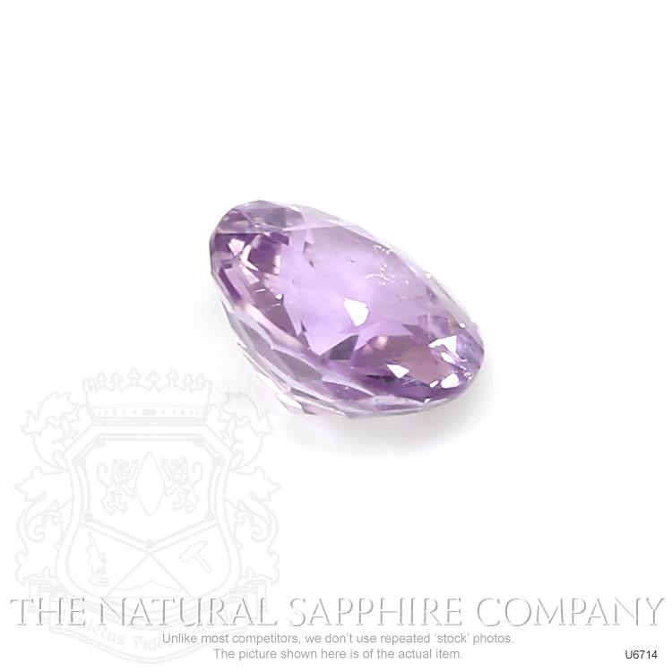Natural Untreated Purple Sapphire U6714 Image 3