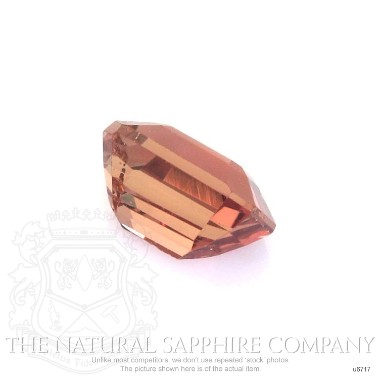 Natural Untreated Orangish Red Sapphire U6717 Image 3