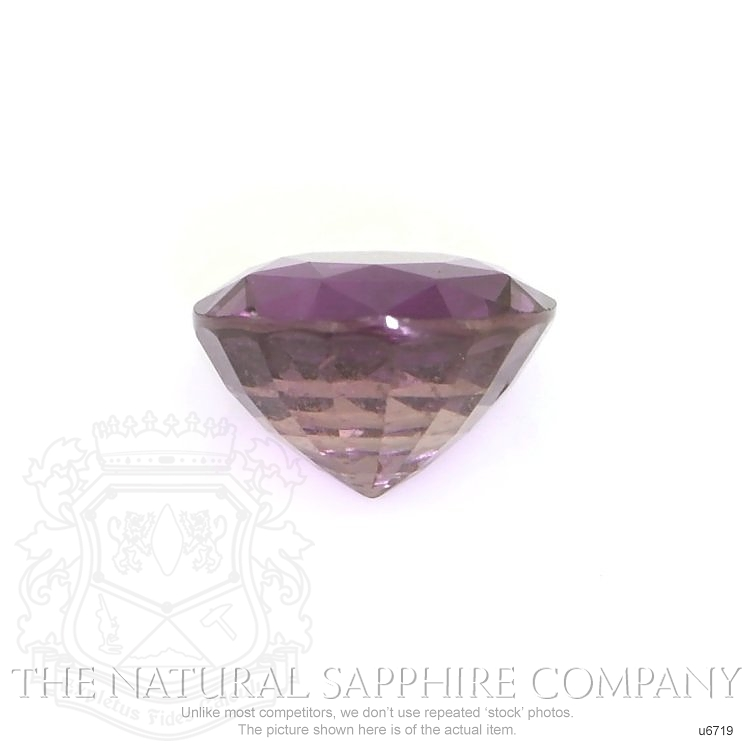Natural Untreated Purple Star Sapphire U6719 Image 2