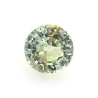 2.78ct Madagascar Round Greenish Yellow Sapphire - U6723
