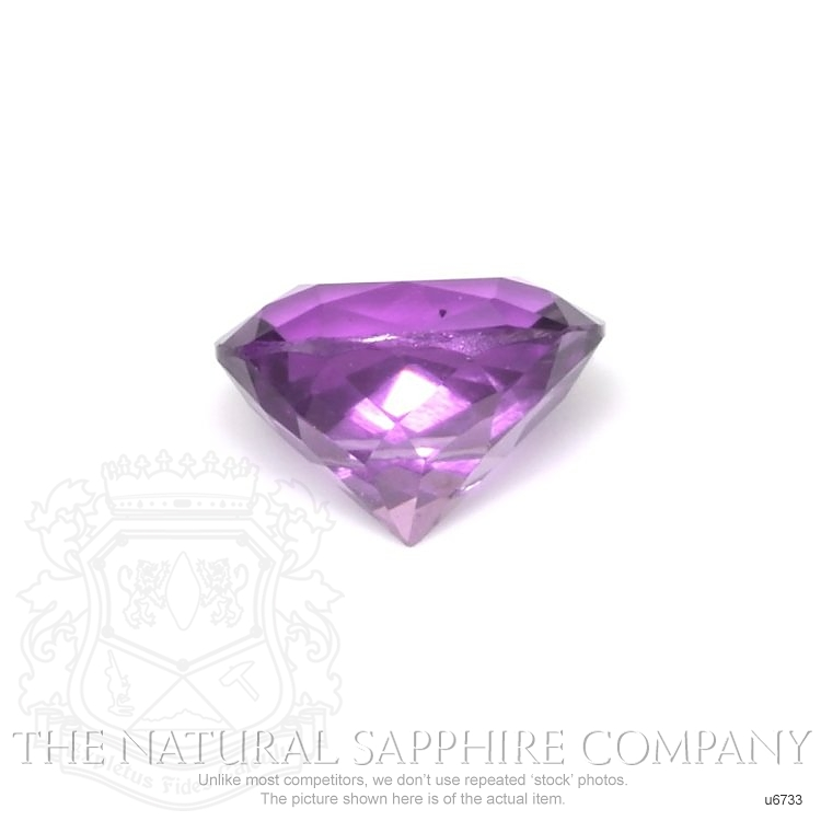 Natural Untreated Purple Sapphire U6733 Image 2