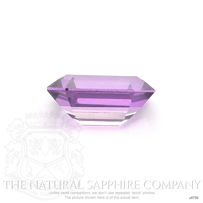 Natural Untreated Purple Sapphire U6756 Image 2