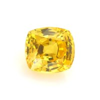 2.54ct Ceylon Cushion Yellowish Orange Sapphire - U6815
