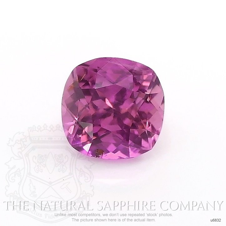 Natural Untreated Purplish Pink Sapphire U6832 Image