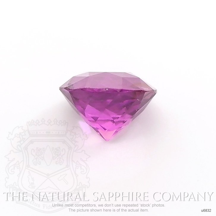 Natural Untreated Purplish Pink Sapphire U6832 Image 2