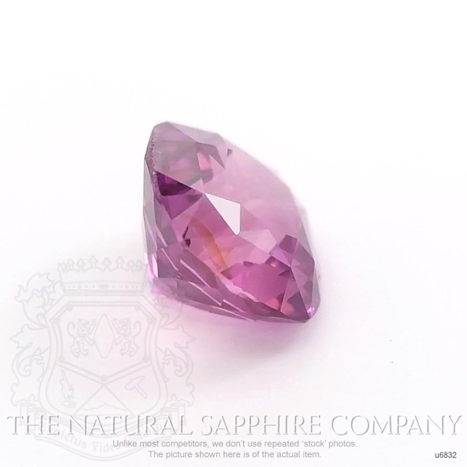 Natural Untreated Purplish Pink Sapphire U6832 Image 3