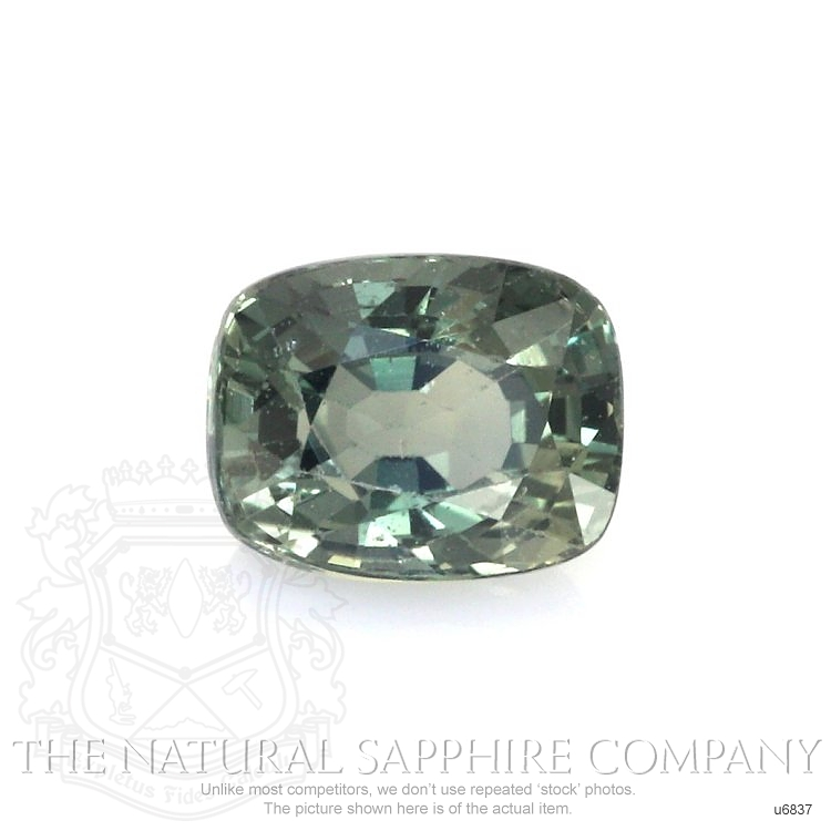 Natural Untreated Green Sapphire U6837 Image