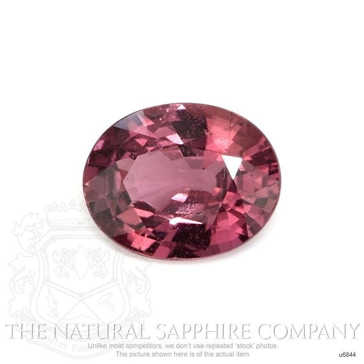 Natural Untreated Purplish Pink Sapphire U6844 Image