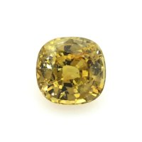 2.81ct Madagascar Cushion Yellowish Brown Sapphire - U6846