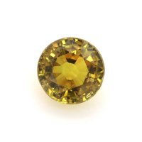 1.63ct Madagascar Round Yellowish Brown Sapphire - U6848