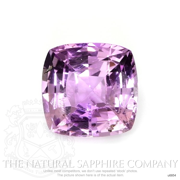 Natural Untreated Purple Sapphire U6854 Image