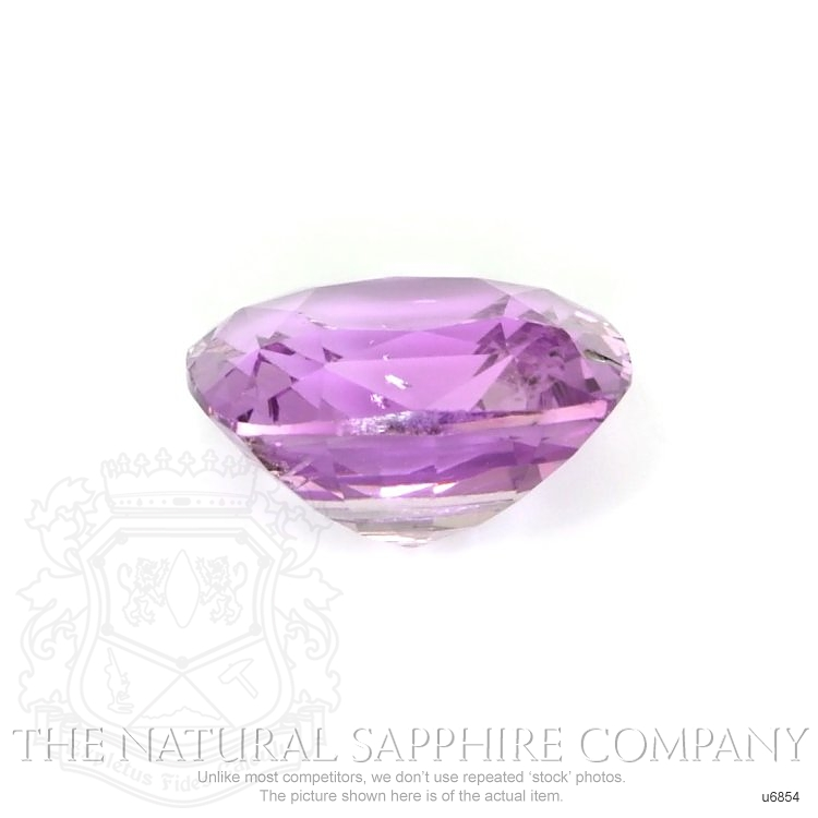 Natural Untreated Purple Sapphire U6854 Image 2