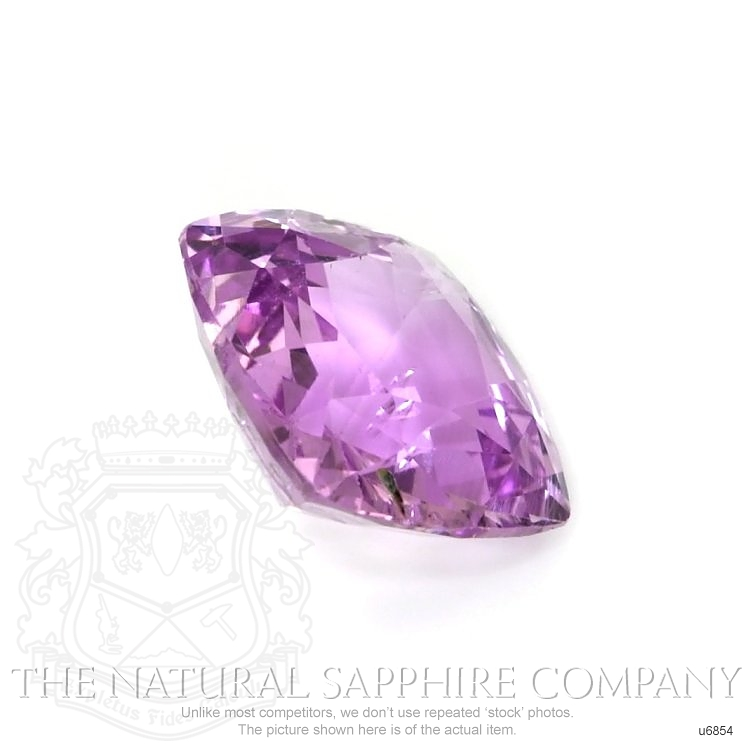 Natural Untreated Purple Sapphire U6854 Image 3
