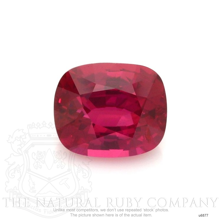 Natural Untreated Ruby U6877 Image